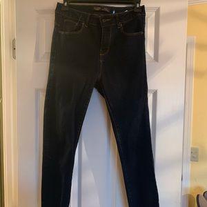 Fashion Nova Dark Blue Skinny Jeans Size 5
